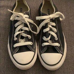 Black converse size 13